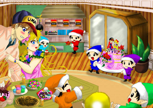 Welcome to tea party~!