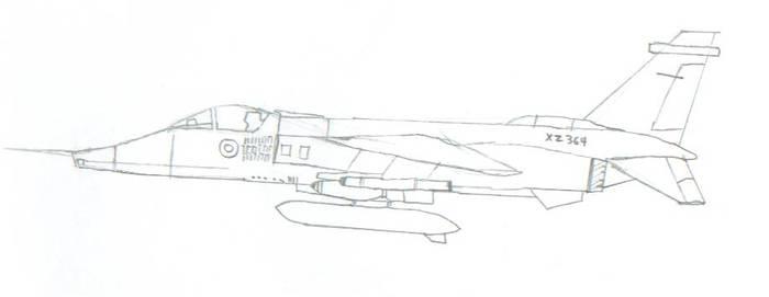 Jaguar fighter
