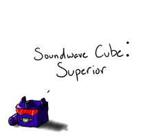 Soundwave Cube by Shirobutterfly