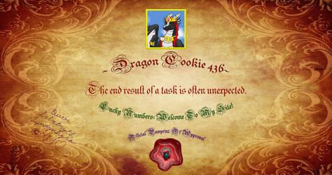 Dragon Cookie 436 by Labatryth