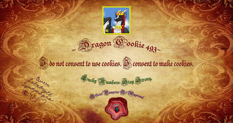 Dragon Cookie 493