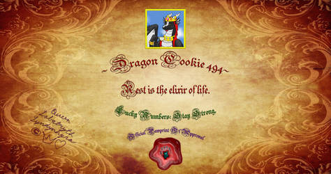 Dragon Cookie 494