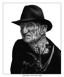 Freddy Krueger by chaosartifex