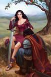 Morgana le Fay and sir Accolon