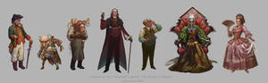 The Queen Of Spades Characters