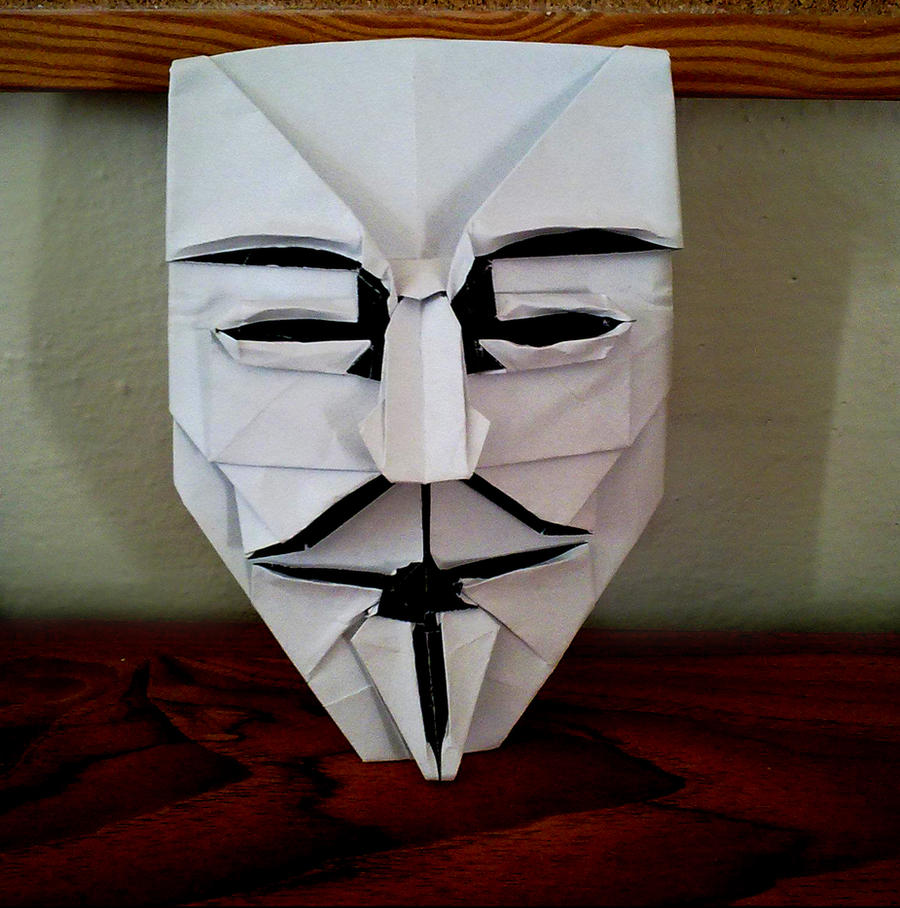 Guy Fawkes' Mask by YARIN108