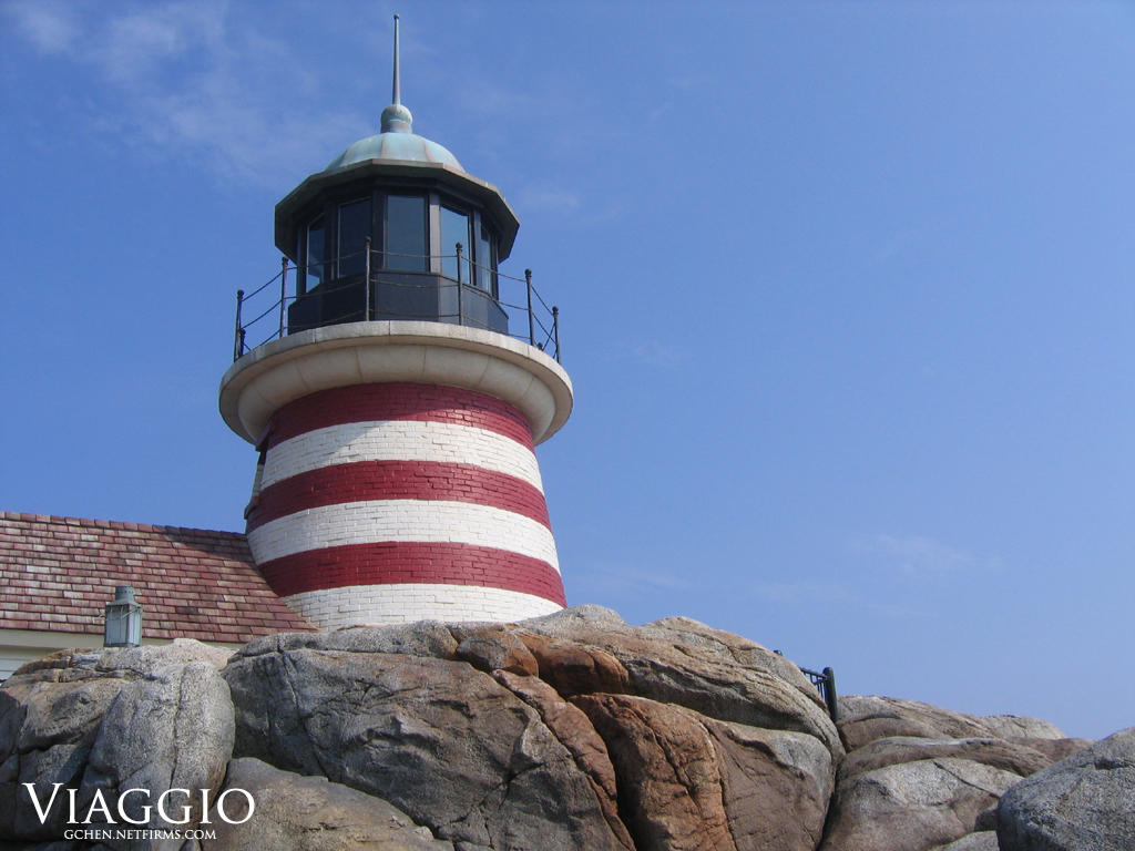 Lighthouse by unknowninspiration
