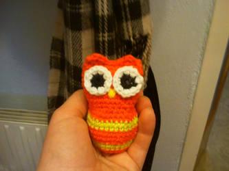 Eulalia Owl by Rabenmaedchen