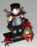 Wulfgard - Sir Tom Drake LEGO Minifig by Maverick-Werewolf