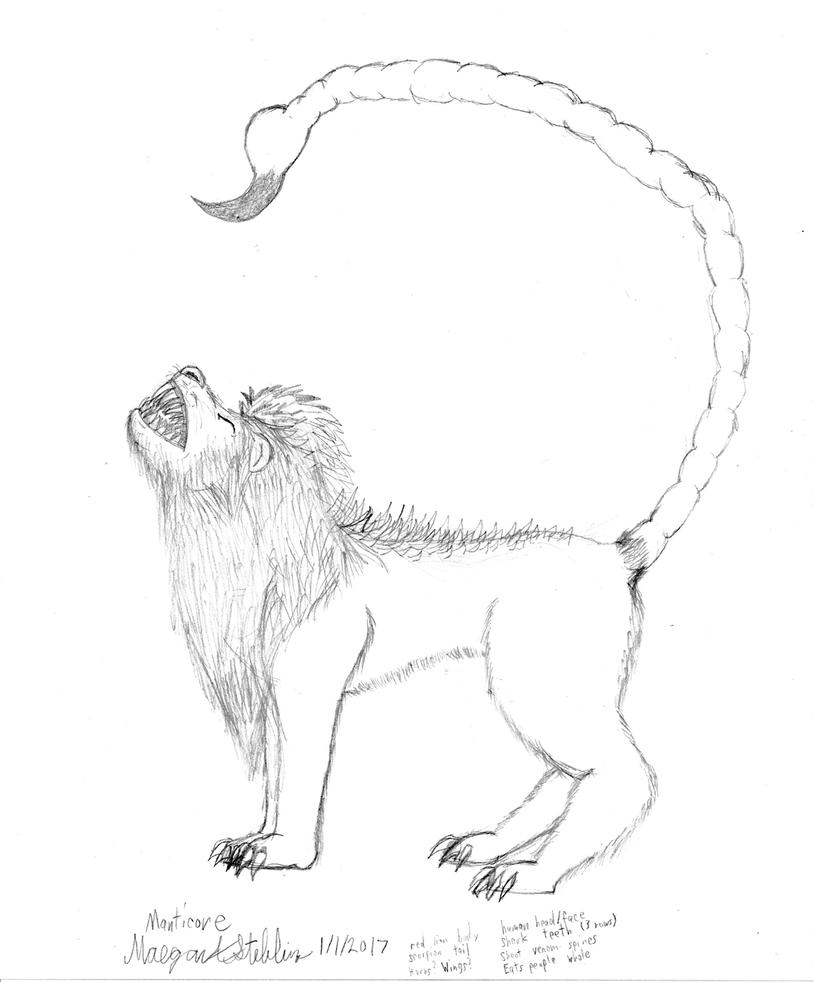 manticore_sketch__wip__by_maverick_werew