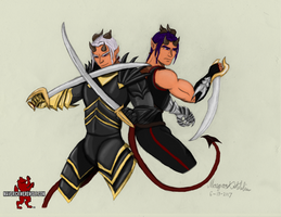 Demon Twins - Lye and Kye (colored)