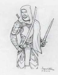 Kain Talon, Black Lance Guildmaster by Maverick-Werewolf