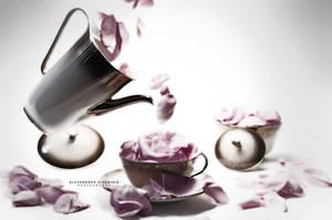 Petal Tea Time II by AlexAidonidis