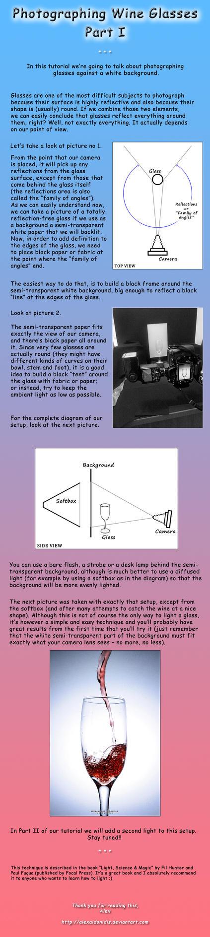 Tutorial - Photographing Wine Glasses - Part I by AlexAidonidis