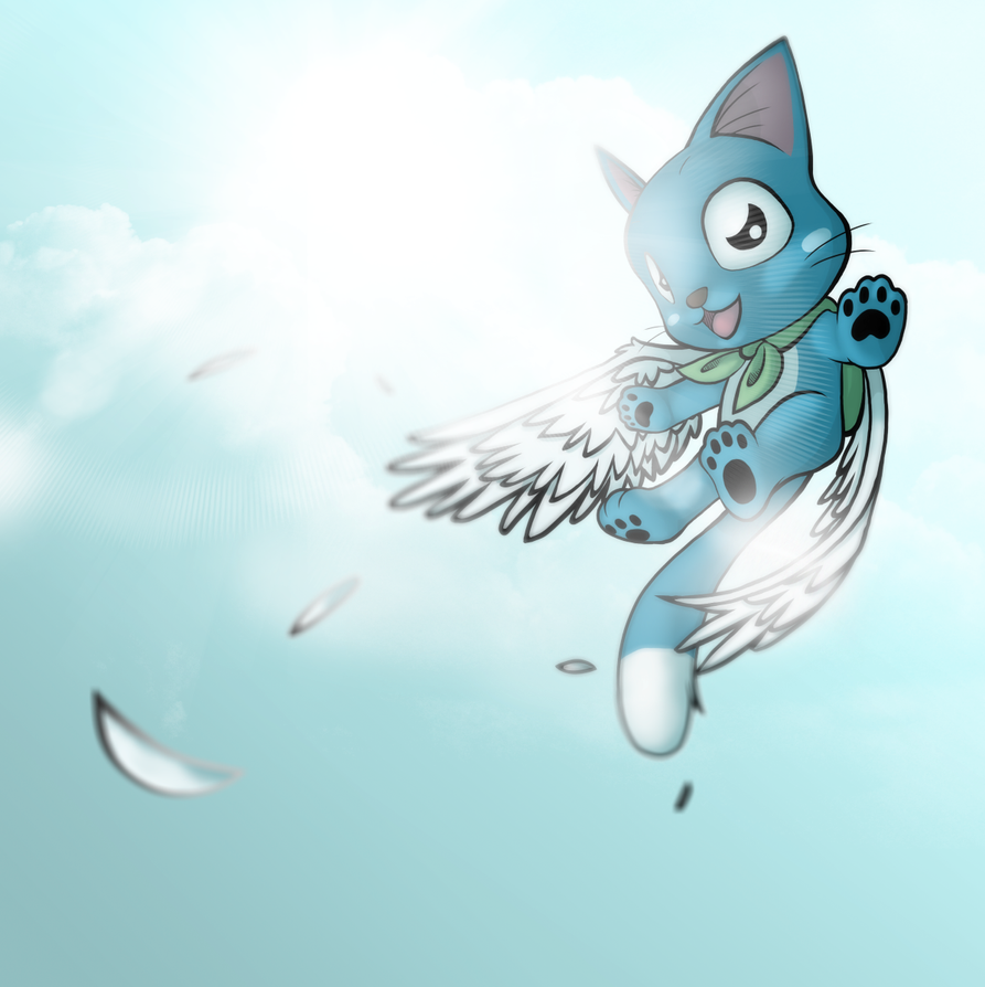 Happy Cat Fairy Tail