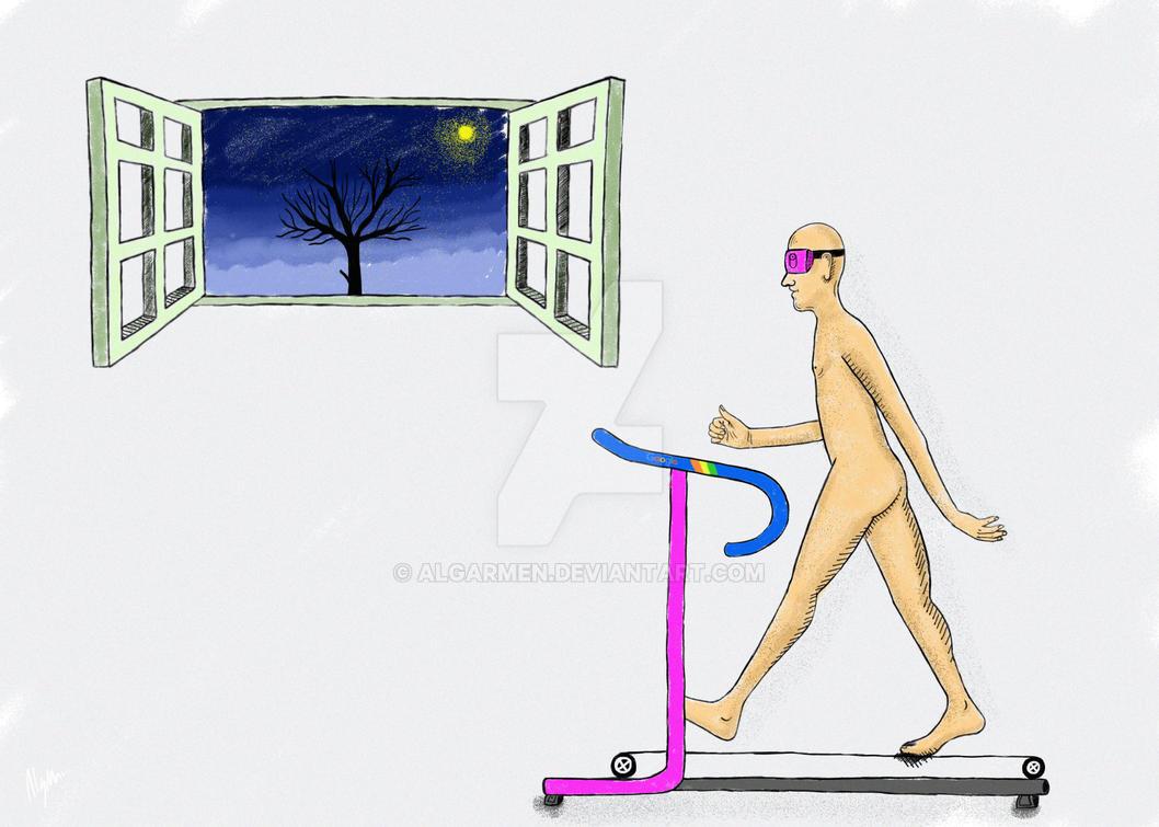 virtual reality by algarmen