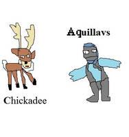 Chickadee and Aquillavus