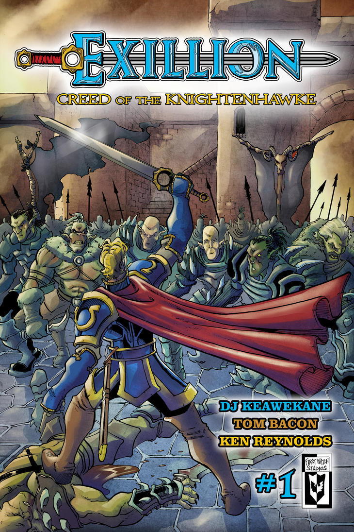 Exillion #1-Cover by shushubag