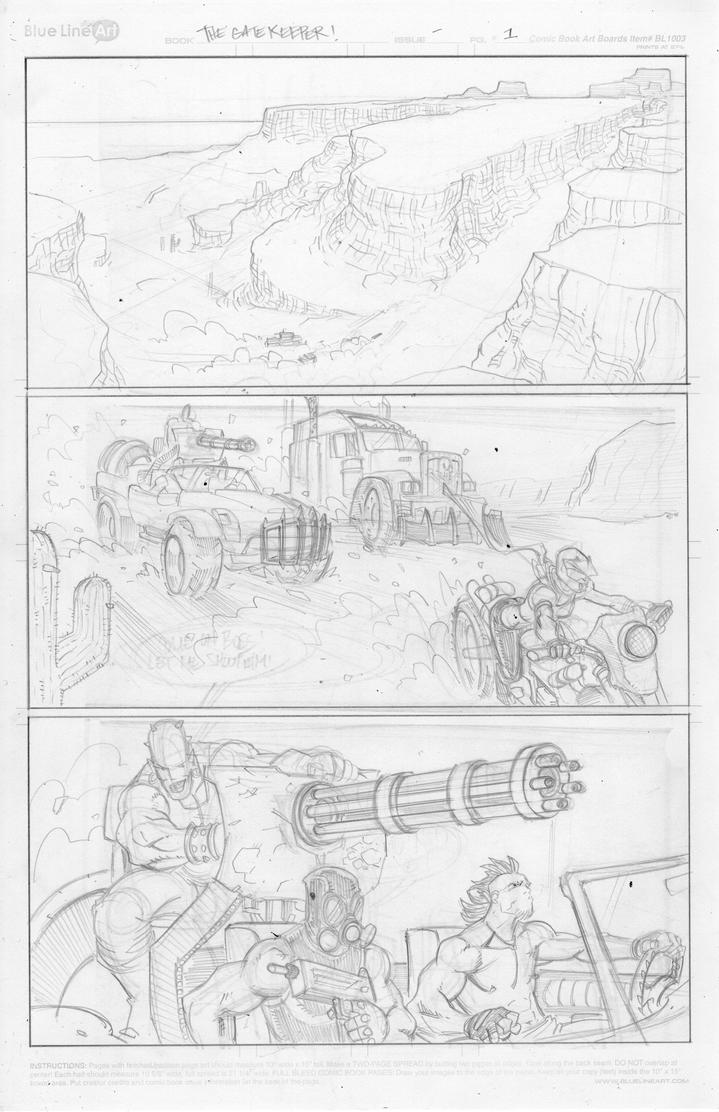 Page 1 Pencils by shushubag
