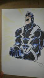 Black Bolt by shushubag