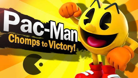 SSB4 - Pac-man (Remade) *CONFIRMED* by mbluebird2