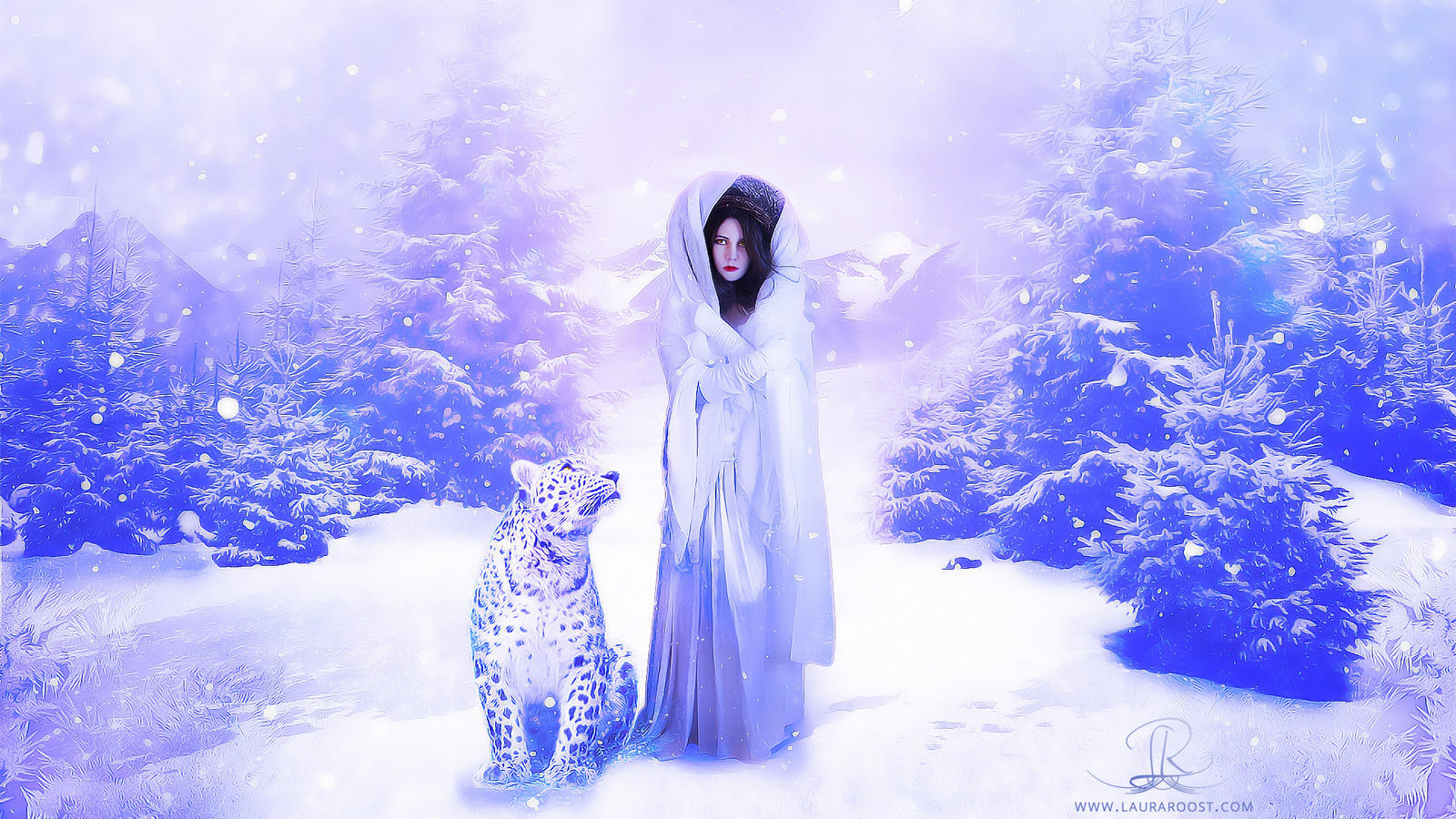 The winter queen and her fellow traveller