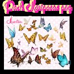 Pack Mariposas PNG :3