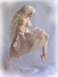 Porcelain ball jointed doll Argentina ED fanart by fernandoartesano