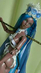 Magical nigth Queen by fernandoartesano