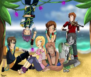 Ganekagi beach adventures! by Natomi