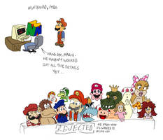 Mario's Early Years by tymime