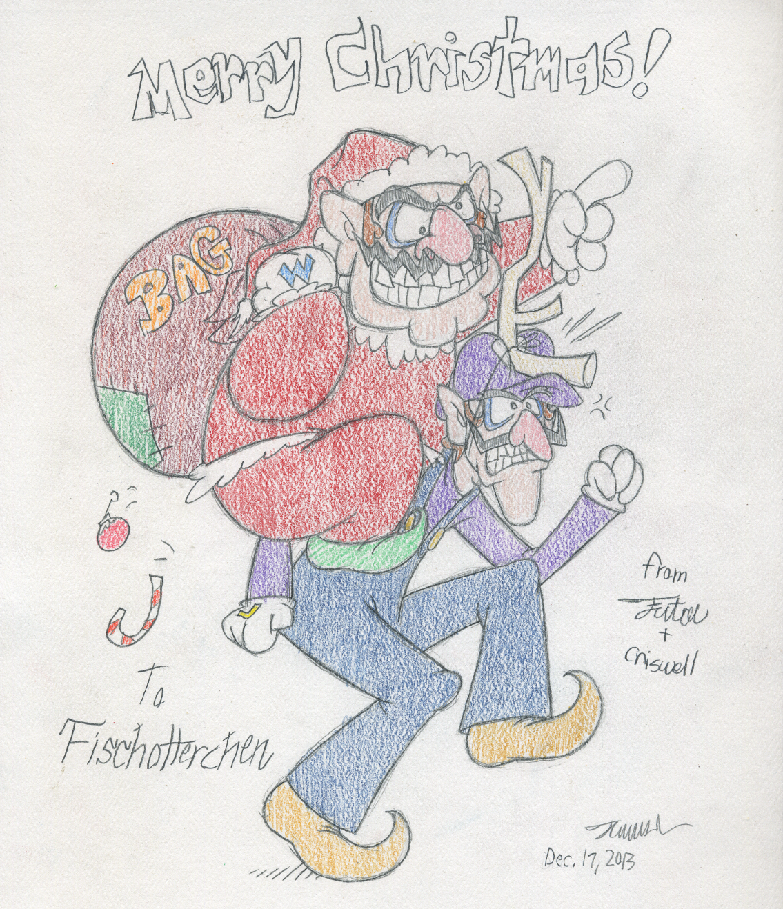 How the Wario Stole Christmas by tymime