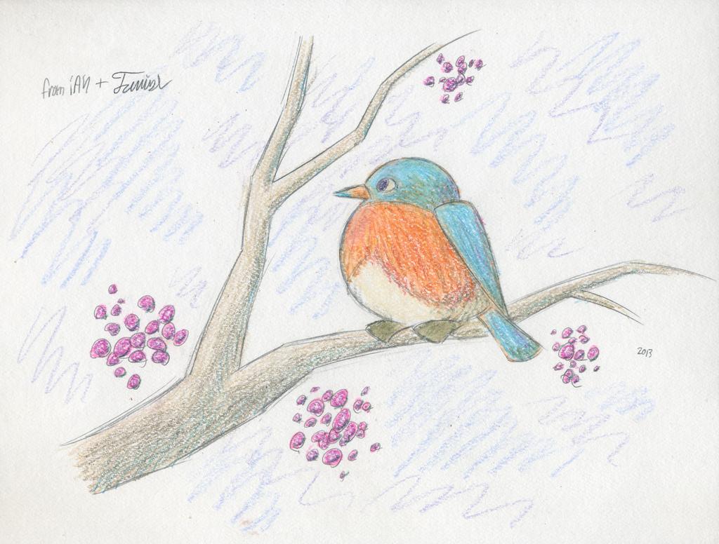Winter Bird by tymime