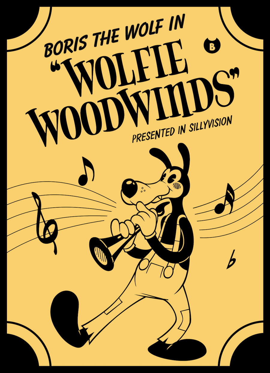 Boris The Wolf In Wolfie Woodwinds Contest By Tymime