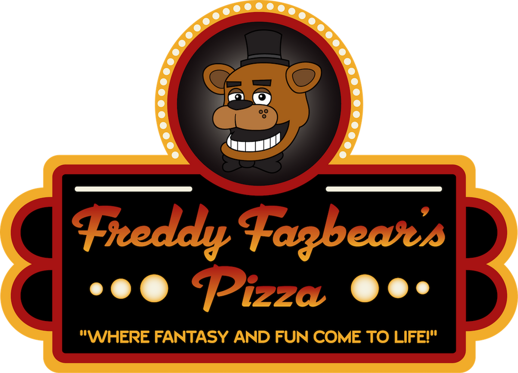 Freddy Fazbear's Pizza logo by tymime