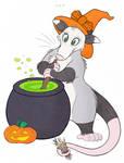 Halloween Opossum