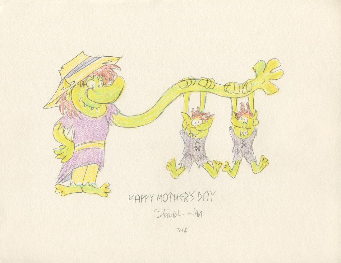Goblin mom by tymime