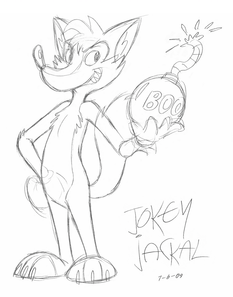 Jokey Jackal by tymime