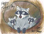 Mother's Day Raccoons
