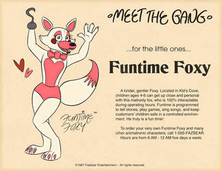 Funtime Foxy by tymime