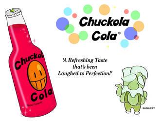 Vintage Chuckola Cola Ad (remake) by tymime
