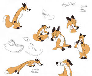 Redford the Fox (from Jack and Ellie)