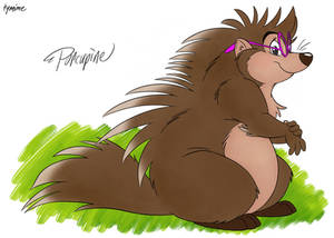 Porcupine (My Friends Tigger and Pooh) redesign