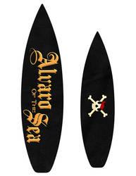 Alvaro of the Sea - surfboard design 1