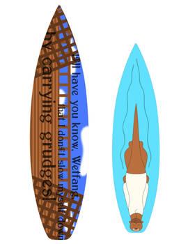 Alvaro of the Sea - surfboard design 2
