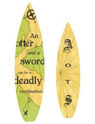 Alvaro of the Sea - surfboard design 3