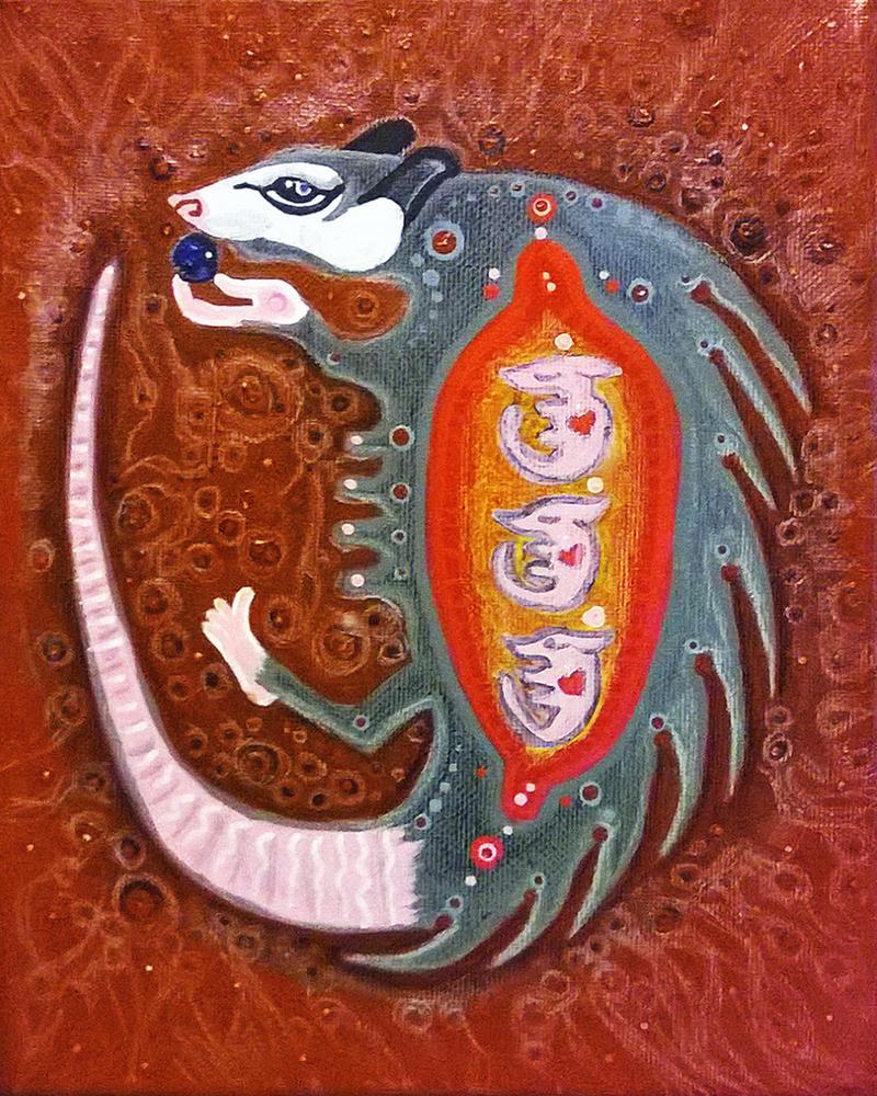 Possum Mother by Tomolan