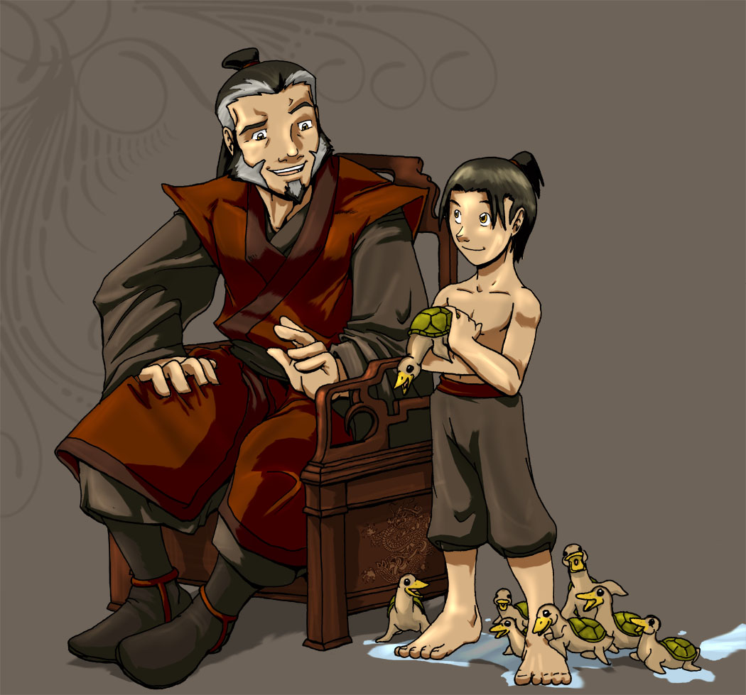 iroh and zuko surrogate father and son discussion