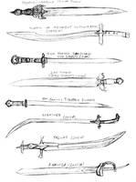 Swords by Erikonil
