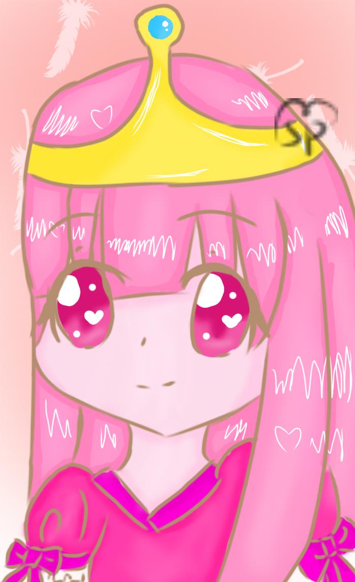Princess Bubblegum by selenapaint